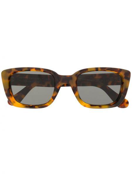 Солнцезащитные очки с логотипом - хаки Retrosuperfuture