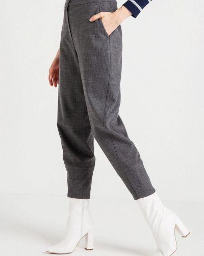 Серые брюки повседневные Bgn