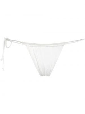 Плавки с завязками - белый Frankies Bikinis