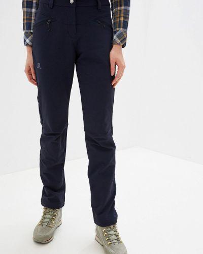 Спортивные брюки синие Salomon