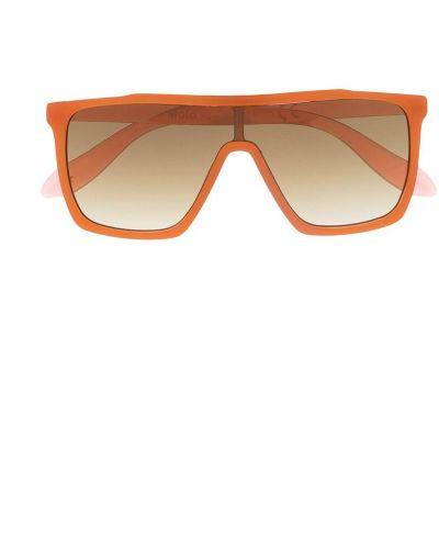 Оранжевые солнцезащитные очки Molo