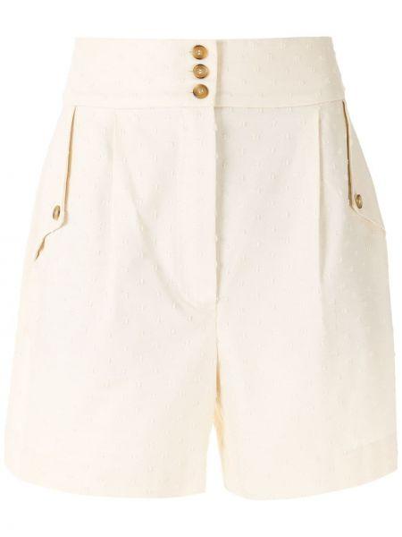 Хлопковые шорты с карманами на молнии Nk