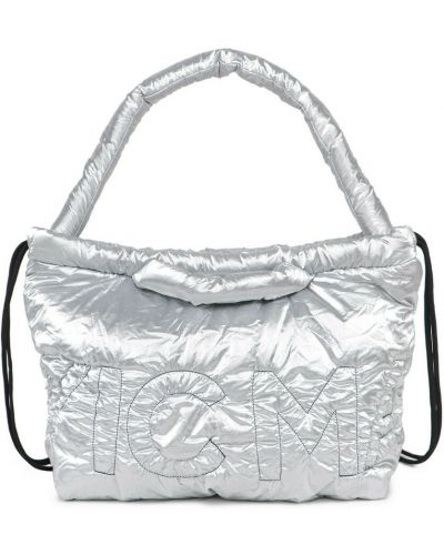 Szara torebka z nylonu Vic Matie