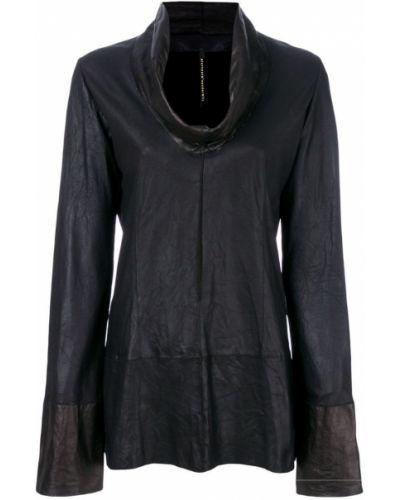 Блузка с длинным рукавом прямая черная Olsthoorn Vanderwilt