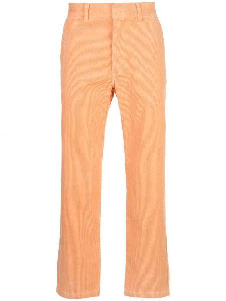 Bawełna prosto bawełna spodnie o prostym kroju wysoki wzrost Supreme
