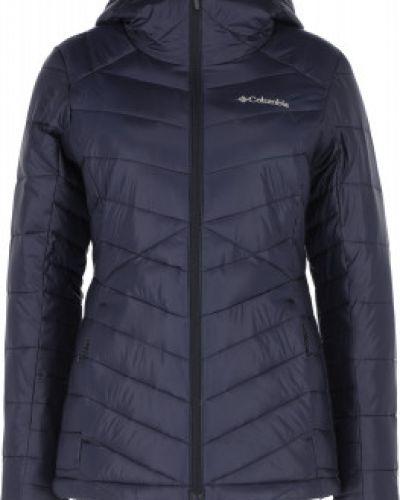 Куртка с капюшоном - синяя Columbia