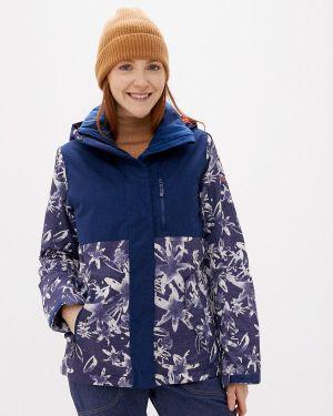 Синяя горнолыжная куртка Roxy