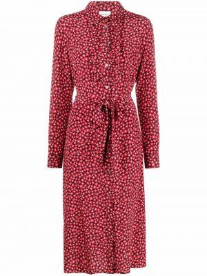 Шелковое платье - красное P.a.r.o.s.h.