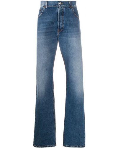 Niebieskie mom jeans Balenciaga