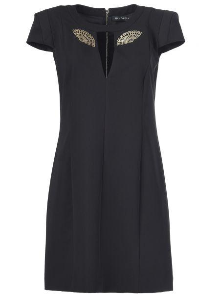 Платье на молнии - черное Mangano