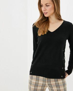 Пуловер - черный Manode