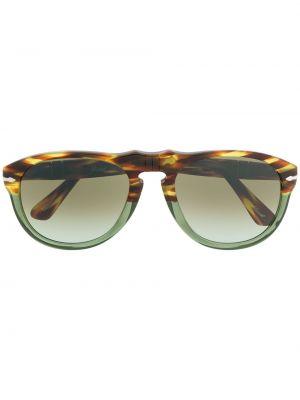 Солнцезащитные очки хаки Persol