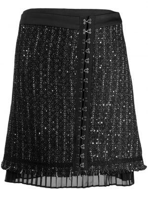 Юбка мини с пайетками с завышенной талией Karl Lagerfeld