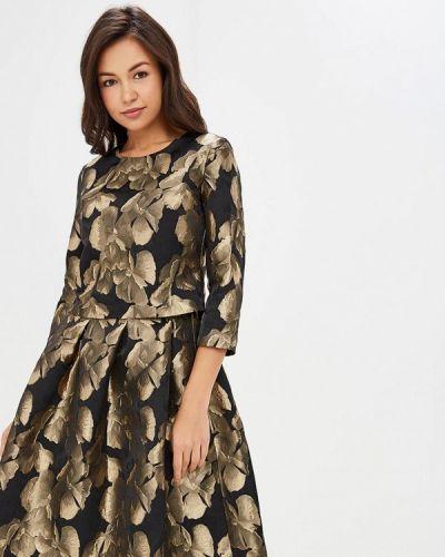 Вечернее платье - золотое мадам т
