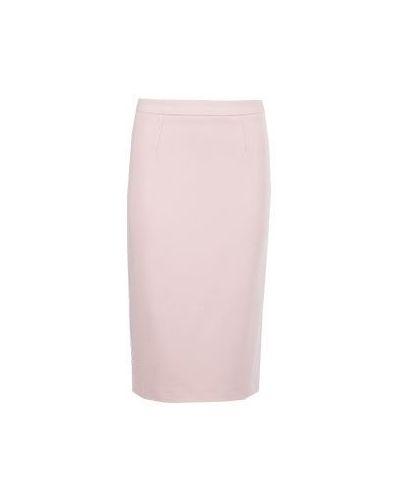Розовая юбка карандаш Blumarine