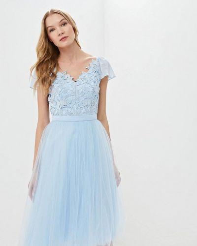Вечернее платье весеннее 2019 Chi Chi London