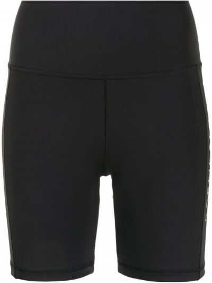 Шорты с принтом - черные Adidas