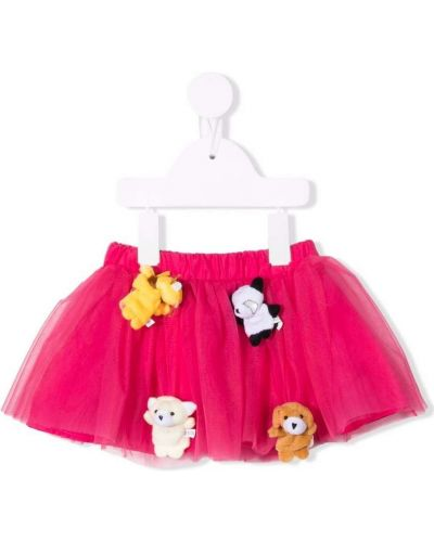Spódniczka mini tiulowa - różowa Miss Grant Kids