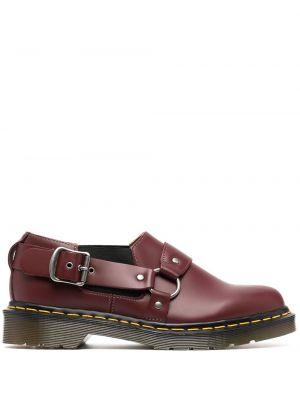 Brązowy buty brogsy z prawdziwej skóry z klamrą okrągły Comme Des Garcons Comme Des Garcons