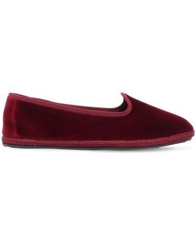 Loafers z aksamitu Vibi Venezia