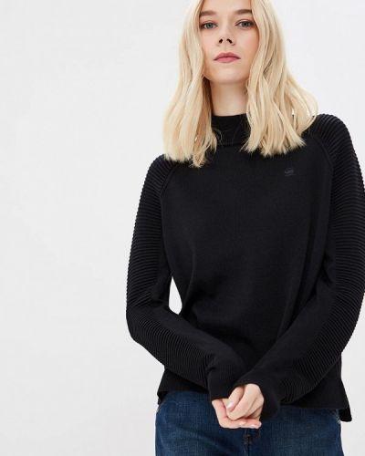 Черный свитер осенний G-star