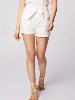 Повседневные белые шорты Morgan