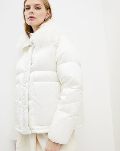 Белая зимняя куртка Add