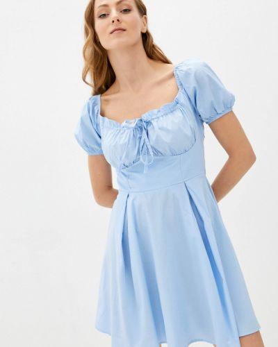 Голубое платье летнее Goldrai