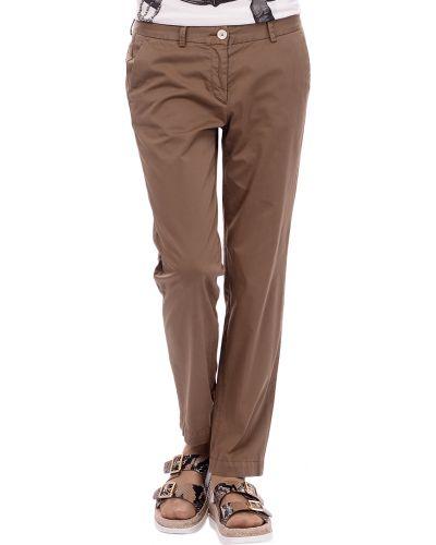 Коричневые брюки Marina Yachting