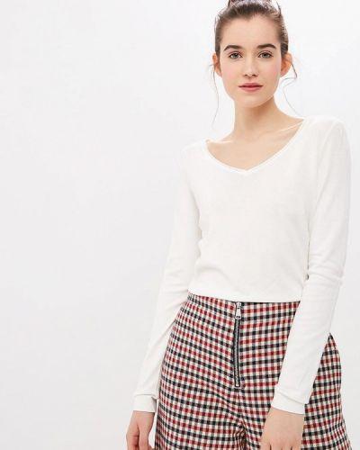 Пуловер белый Naf Naf