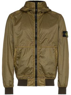 Облегченная куртка - зеленая Stone Island