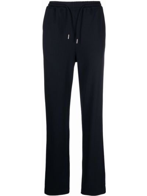 Niebieskie spodnie z wiskozy Sandro Paris