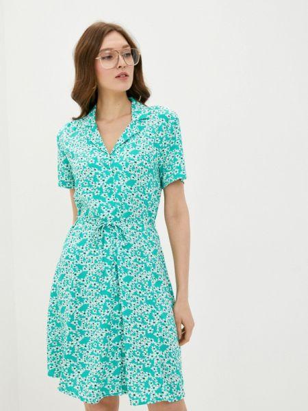 Бирюзовое платье Jacqueline De Yong