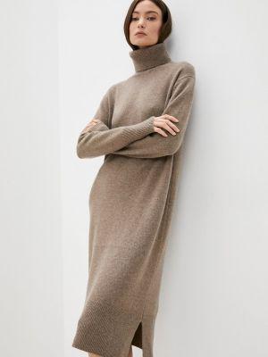Вязаное платье - бежевое Joseph