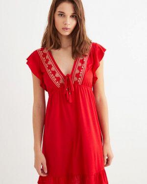 Пляжное платье красный весеннее Women'secret