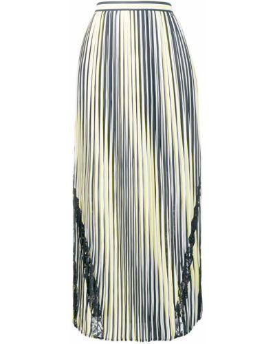 Плиссированная юбка макси с завышенной талией Liu Jo