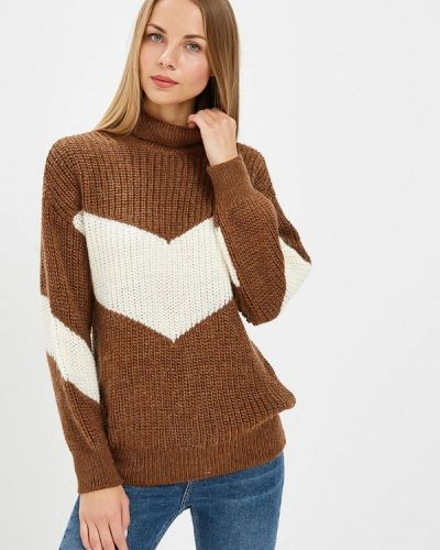 Коричневый свитер турецкий Adl