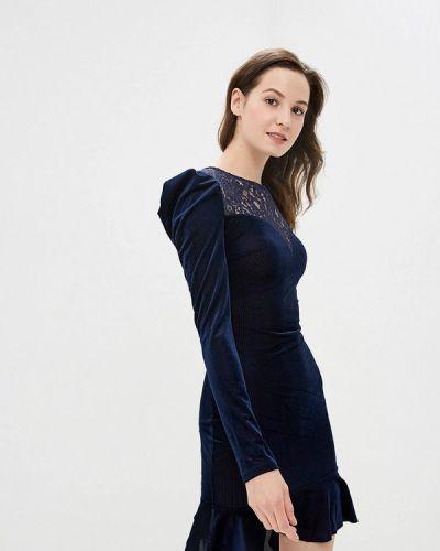 Вечернее платье весеннее синее Gepur