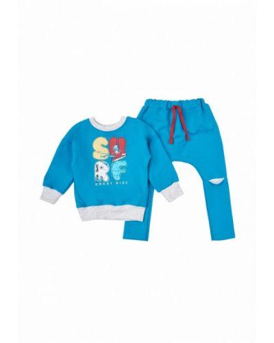 Голубой спортивный костюм вітуся