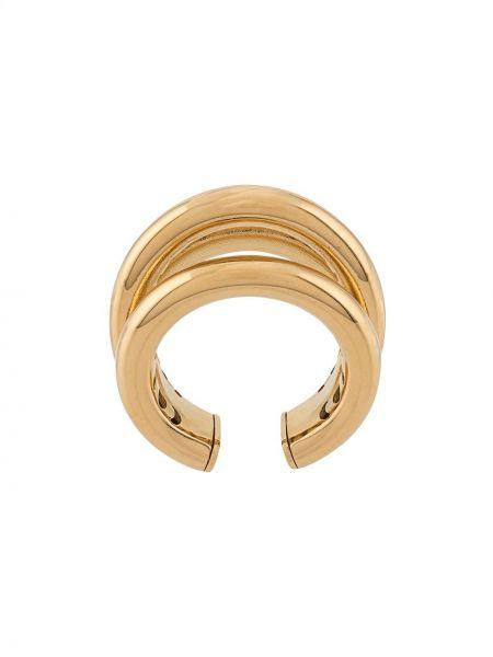 Pierścień metal z ozdobnym wykończeniem Federica Tosi