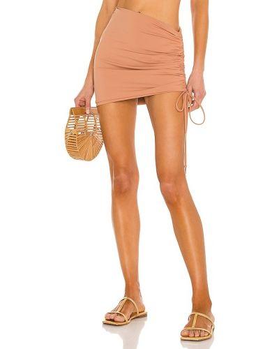 Brązowa spódnica z nylonu L*space