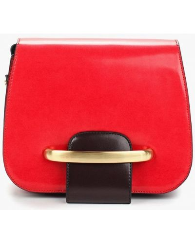 Красная сумка через плечо Vitacci