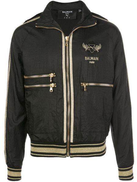 Куртка с логотипом черная Puma