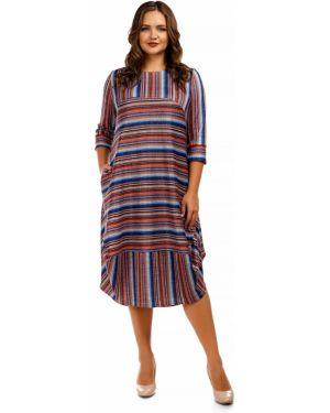 Платье в полоску платье-сарафан Liza Fashion