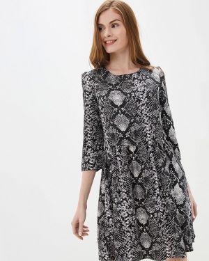 Платье - серое Nice & Chic