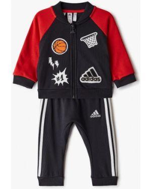 Спортивный костюм костюмный черный Adidas