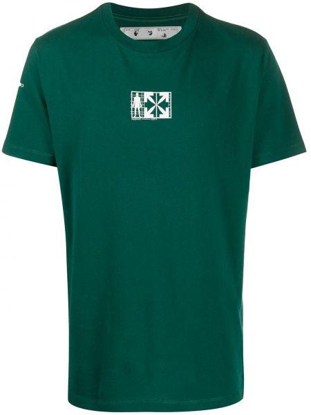Koszula krótkie z krótkim rękawem z logo prosto Off-white