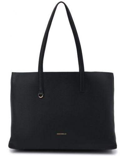 Черная итальянская сумка Coccinelle