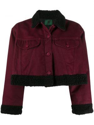 Красная куртка на пуговицах с воротником из вискозы Jean Paul Gaultier Pre-owned