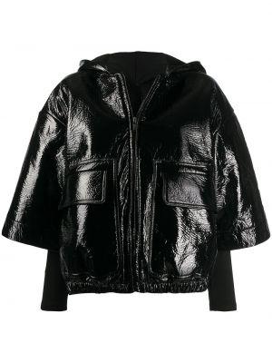 Классическая черная куртка с капюшоном на молнии с карманами Rick Owens Drkshdw